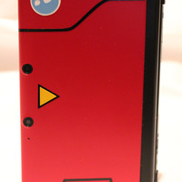 Pokedex decal kit for red 3DS & 3DS XL