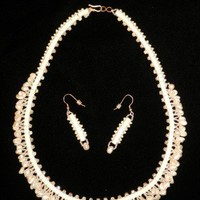 The Wedding freshwater pearl necklace | CShoresInc - Jewelry on ArtFire