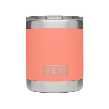 10 oz. Rambler Lowball in Coral by YETI