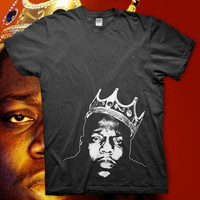 Notorious BIG - High Quality Screen Printed T Shirt - Biggie Smalls Hip Hop