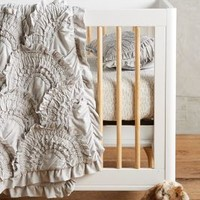 Rivulets Toddler Quilt & Playmat in Grey Motif One Size Size Bedding by Anthropologie