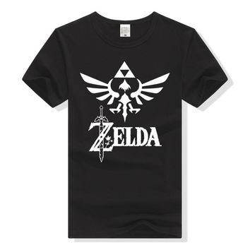 Game The Legend of Zelda T Shirt Women&Men's Print Casual Short Sleeve Tee Shirts Costume O-Neck Streetwear Cosplay Clothes
