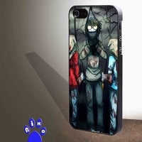 Creepypasta Ticci Toby dead for iphone 4/4s/5/5s/5c/6/6+, Samsung S3/S4/S5/S6, iPad 2/3/4/Air/Mini, iPod 4/5, Samsung Note 3/4 Case *NP*