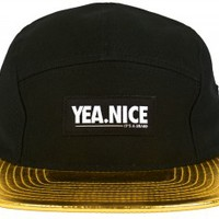 Gold 5-Panel | Yea.Nice - It's A Brand.