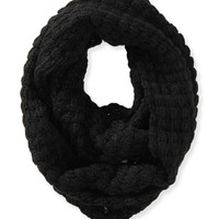 Aeropostale  Solid Chunky Knit Infinity Scarf