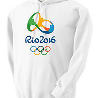 Olympic Hoodie and Sweatshirt Rio 2016 Shirts By Rock S,M,L,XL,2XL,3XL #1