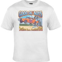 Good Old Boys Dukes Of Hazard T-Shirt White Fast Shipping S-XL