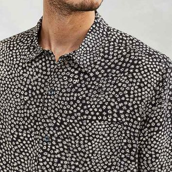 CPO Ditsy Meadow Rayon Short-Sleeve Button-Down Shirt