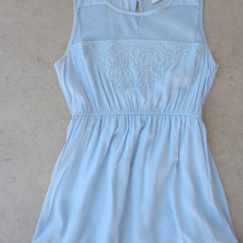 Bohemian Blue Dress [6766] - $30.60 : Feminine, Bohemian, & Vintage Inspired Clothing at Affordable Prices, deloom