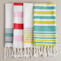 Hamam Guest Towels, Set of 4