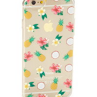 Clear Paradise Soft Case for iPhone