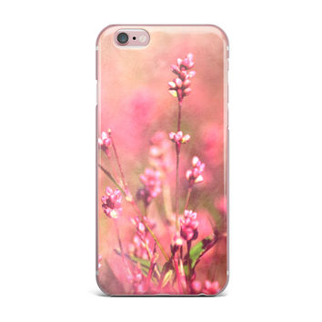 """Robin Dickinson """"Its a Sweet Sweet Life"""" Flowers iPhone Case"""