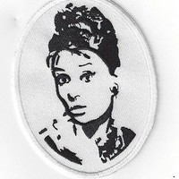 AUDREY HEPBURN IRON ON PATCH BUY 2 GET 3 OF THESE | eBay