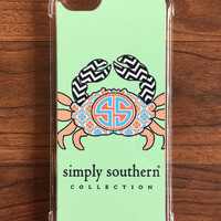 Simply Southern Crab iPhone Case