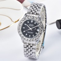 ROLEX Ladies Men Fashion Quartz Watches Wrist Watch 40MM