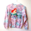 Little Mermaid Disney Sweater - SUPER RARE - Vintage Disney Hoodie Ch. L FREE Shipping