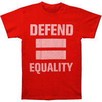 Otep Men's  Defend Equality T-shirt Red