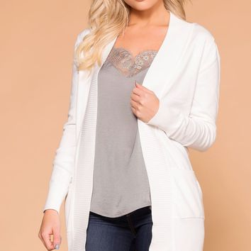 Alex Cardigan - White