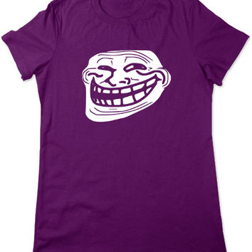 Troll Face, You Mad Bro, Funny T Shirt, Meme tshirt, Geeky, Rage Comic, Funny Graphic Tee, Meme T Shirt, Geek Tshirt, Ladies Women Plus Size