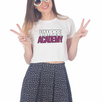 Vampire Academy For Womens Crop Shirt ***