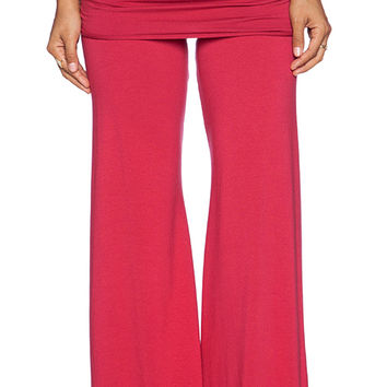 Michael Lauren Bell Pant In Red From Revolve Clothing