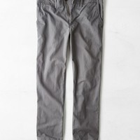 AEO Men's Relaxed Straight Pant (Grey Road)