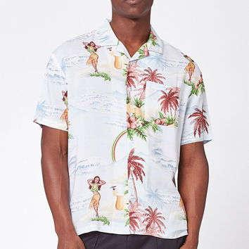 PacSun Paradise Short Sleeve Button Up Camp Shirt at PacSun.com
