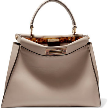 Fendi - Peekaboo medium leather tote