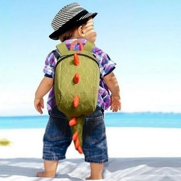 Dinosaur backpack for kids Children Backpack animals Kindergarten School bags for 1-3 years Children Backpack