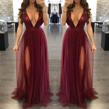 The Vixen Gown - Red