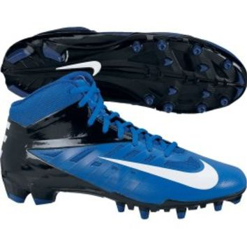 Nike Men's Vapor Pro Mid TD Football Cleat - Black/Blue | DICK'S Sporting Goods