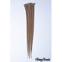 """Dirty Blonde Single Ended Synthetic Dreadlock Extensions 20"""""""