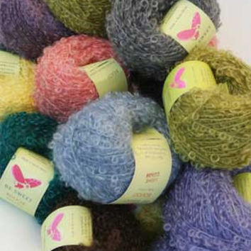 Be Sweet - Mohair Boucle Yarn