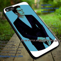 blue in suit, Dylan Obrien, teen wolf, case/cover for iPhone 4/4s/5/5c/6/6+/6s/6s+ Samsung Galaxy S4/S5/S6/Edge/Edge+ NOTE 3/4/5 #music #dob ii