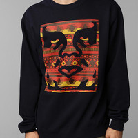 Urban Outfitters - OBEY Geo Icon Pullover Sweatshirt