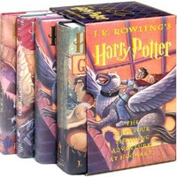 Harry Potter (4 Volumes set) Hardcover – Box set, November 1, 2001
