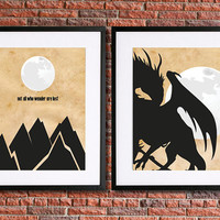 """Lord of the Rings Poster Set 