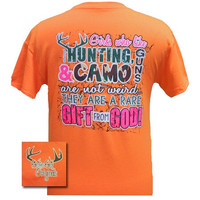 Girls Who Hunt Are A Gift From God Tee