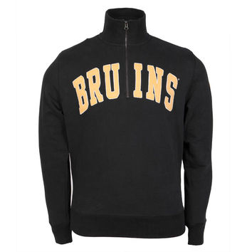Boston Bruins - Striker 1/4 Zip Premium Pullover Sweatshirt