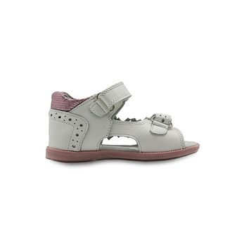 Summer Girls Sandals Shoes Fashion Flowers Kids Flat Leather Princess Shoes Children's Shoes Arch Support