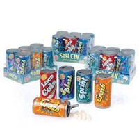 Toysmith Soda Can Fizz Playset, 6 Count, 1.48 oz