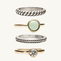Elements Stacking Rings