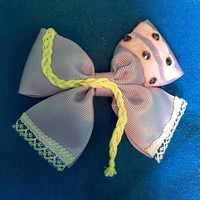 Disney Tangled Rapunzel Style Hair Bow