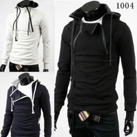 Men's Fashion Slim Fit Bare Your Heart Hoodie