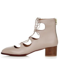 KIRK Ghillie Block Shoe - Nude