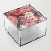 Beauty is Fleeting Acrylic Box by duckyb