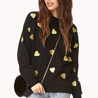 Crazy Hearts Sweatshirt