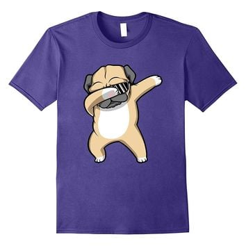 Dabbing Pug Shirt - Funny Cute Dog Dab Dance T-Shirt