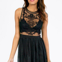 Through and Tulle Dress $35
