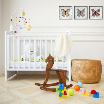 Butterfly Accents for the Nursery / Gift Idea for New Baby